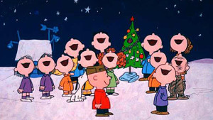 Charlie Brown Caroling